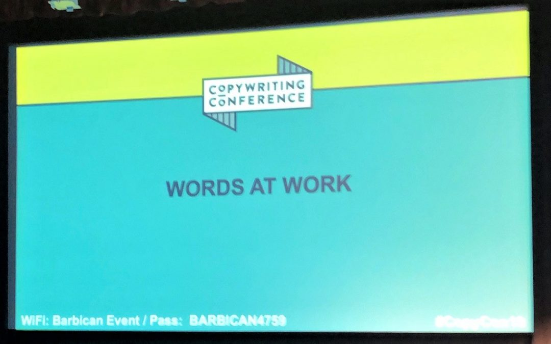 The best copywriting tips from ProCopywriters Conference 2019